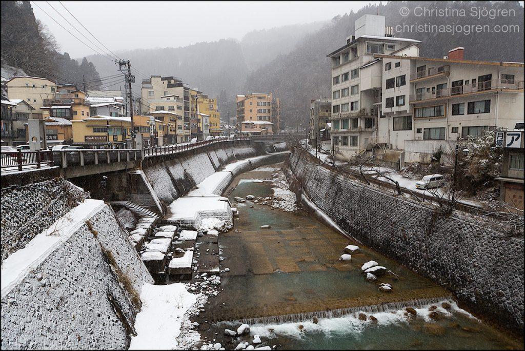 The town Tsuchiyu Onsen in Fukushima Prefecture.